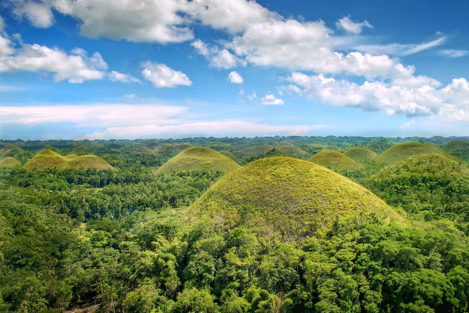EyeEmNewHere Landscape Green Color Beauty In Nature Nature Bohol Chocolatehills
