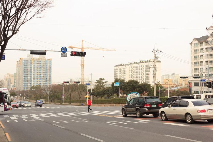 City Day Jeju Jeju City JEJU ISLAND  Jeju Island, Korea Jeju Travel Jeju-do Jeju-island Jeju_island Jeju_korea Jejudo Jejuisland JEJULIFE Korea Korea Photos Korean Korean Traditional Architecture No People Outdoors Sky Traffic Traffic Jam Traffic Lights Traffic Sign