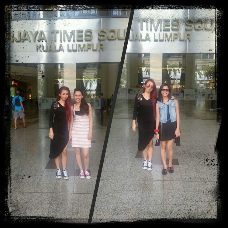 arrived...shopaholic time...weheee.. In Heaven Shopping On A Holiday Berjaya Times Square