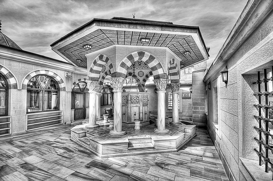 Arch Architecture Built Structure Historic Marcokleinphotography Mosque Pillar Religion Wash Well  The Architect - 2016 EyeEm Awards