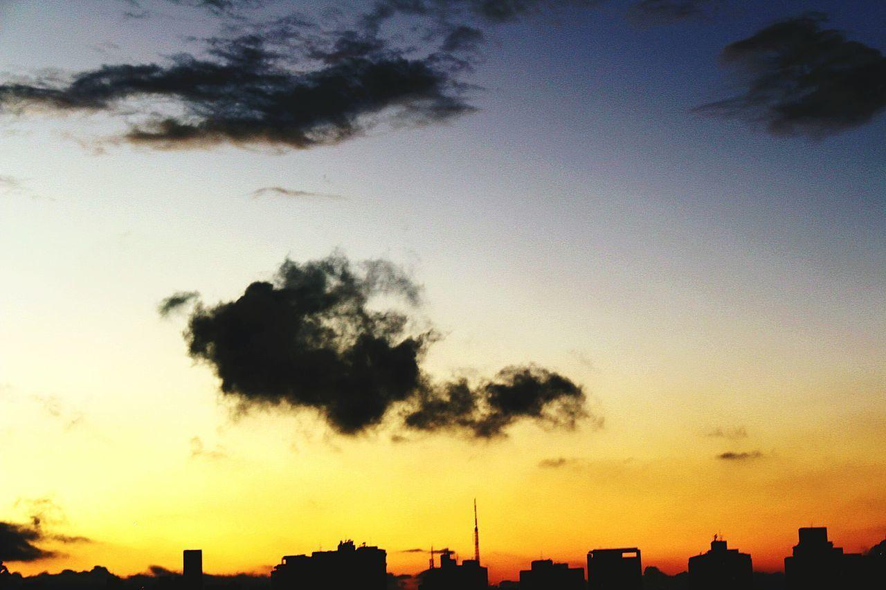 Sunset Cloud - Sky Urban Skyline SaoPaulo-Brazil