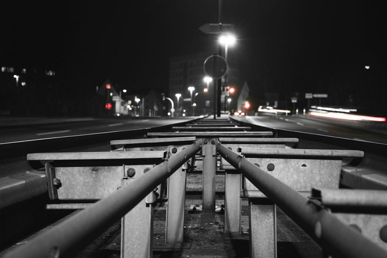 ~✴⛩~ Night Transportation Illuminated Outdoors Connection No People Bridge - Man Made Structure Light And Shadow Getting Inspired Colorsplash Red Streetphotography Construction Road Pattern Black & White Detail Monochrome Light Trail Cityscape City Lights Cars Long Exposure Symmetry Lines And Shapes