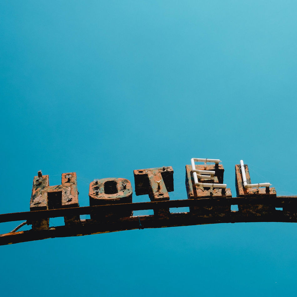 Beautiful stock photos of sign, Close-up, abandoned, absence, blue