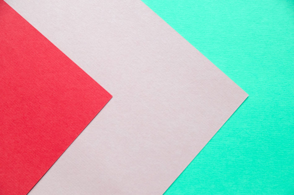 Arrow Backgrounds Close-up Colorful Colors Copy Space Cut Out Day Green No People Paper Pink Color Red