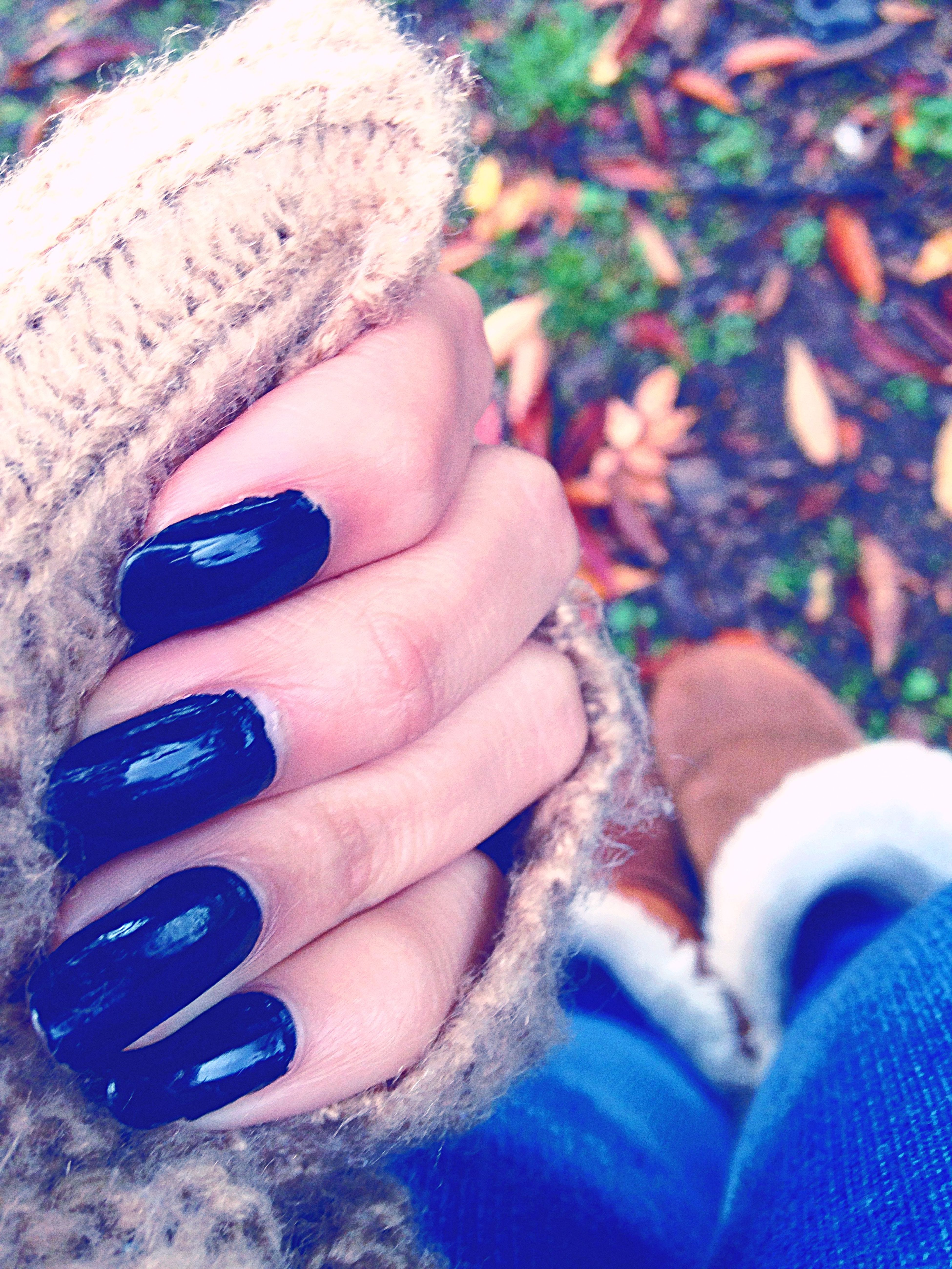 My nails are messed up but oh well:/..it's fall🍃🍂
