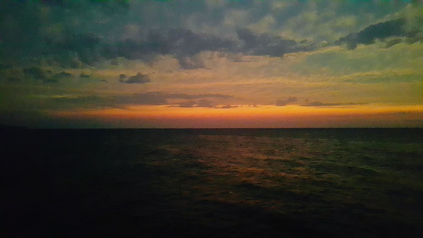 T w e n t y - Sea Horizon Over Water Scenics Water Beauty In Nature Sky Nature Cloud - Sky Seascape Orange Color Cloudy EyeEm Gallery Travel Photography Photography EyeEm Nature Lover Esenköy Instagood Waterfront Tranquility Sunset Traveldeeper Ocean Nature Blue Clear Sky