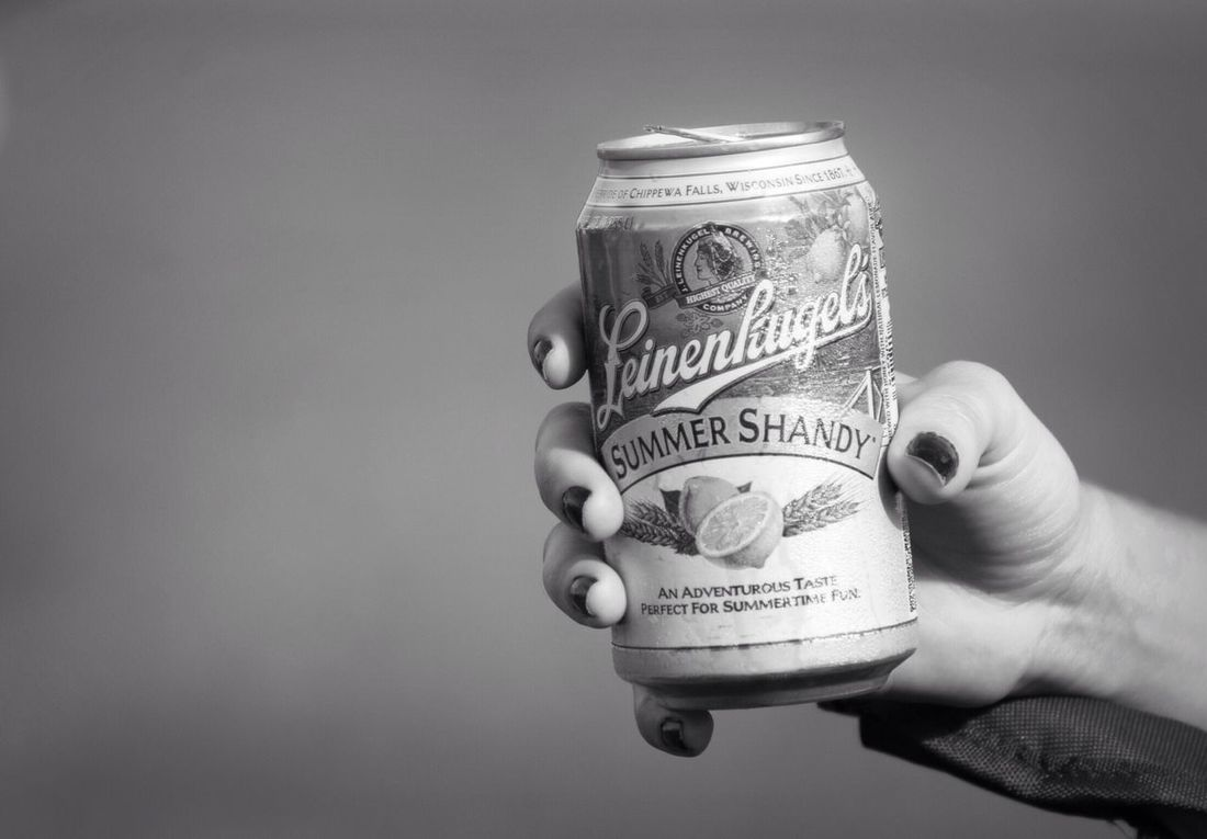 Summershandy Beer Beer Summer Summer Fun Fun Football Season Football Tailgating Blacks White Blackandwhite Western Script Text Holding Person Number Cropped Communication Part Of Studio Shot Currency Close-up Selective Focus Focus On Foreground