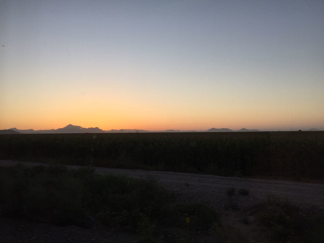 Sunrise Chepe Mexico Los Mochis