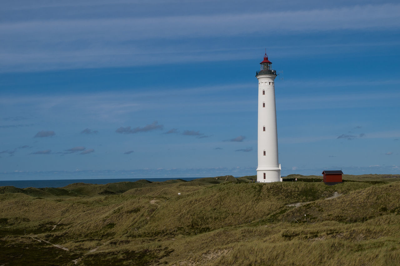 Architecture Denmark Horizon Over Water Lighthouse No People Tranquil Scene Tranquility