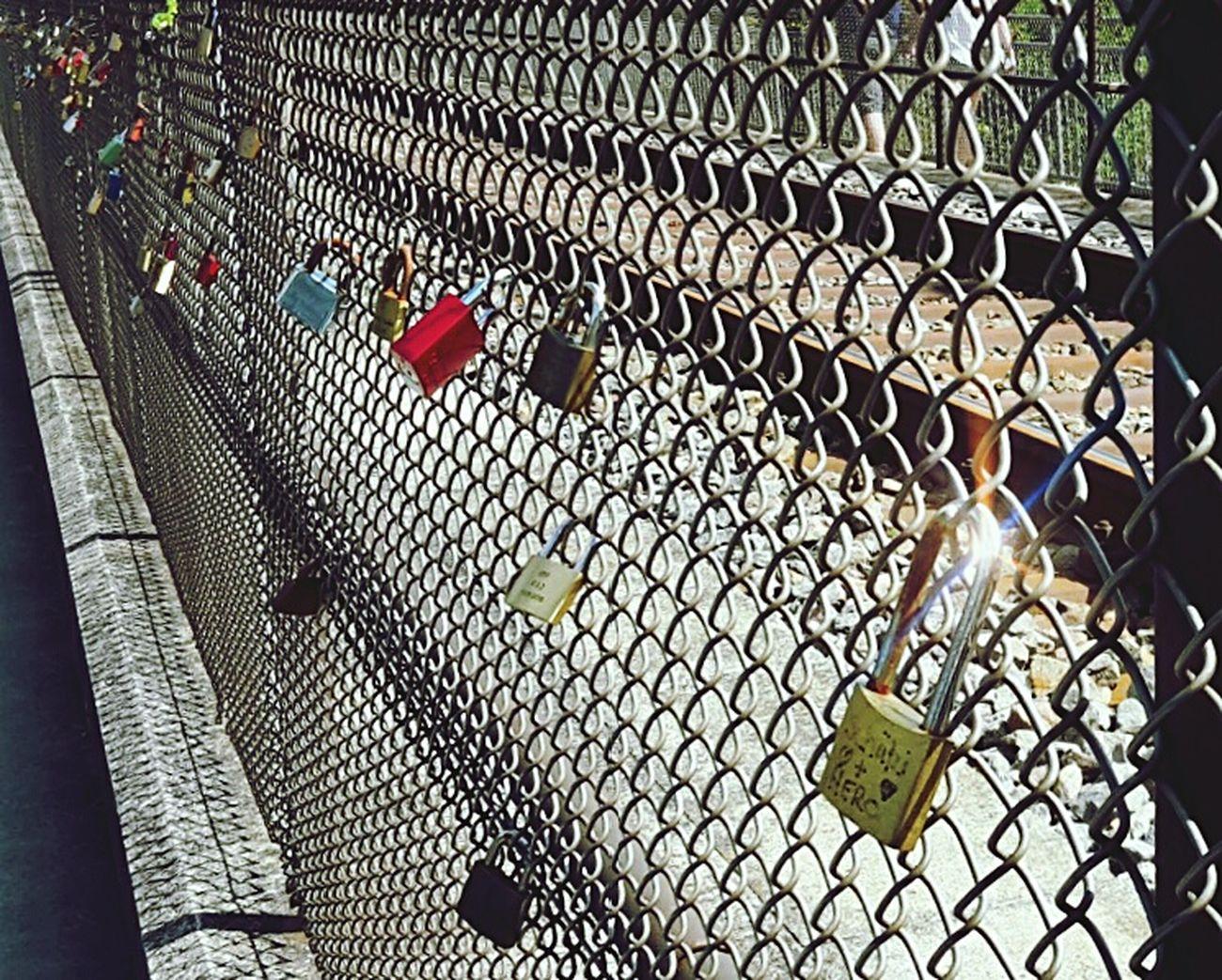 Liebesschlösser Love Locks Love Locks Bridge Liebesschloss