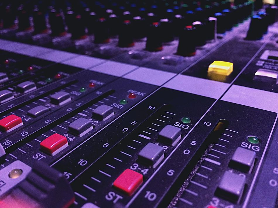 Yamaha Mixconsole Mixer Faders Sound Performance