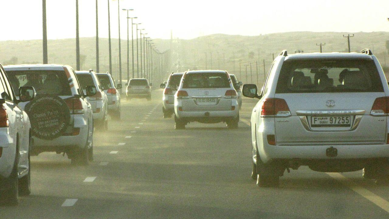 Capture The Moment, Rush Hour, Dubai, UAE The KIOMI Collection