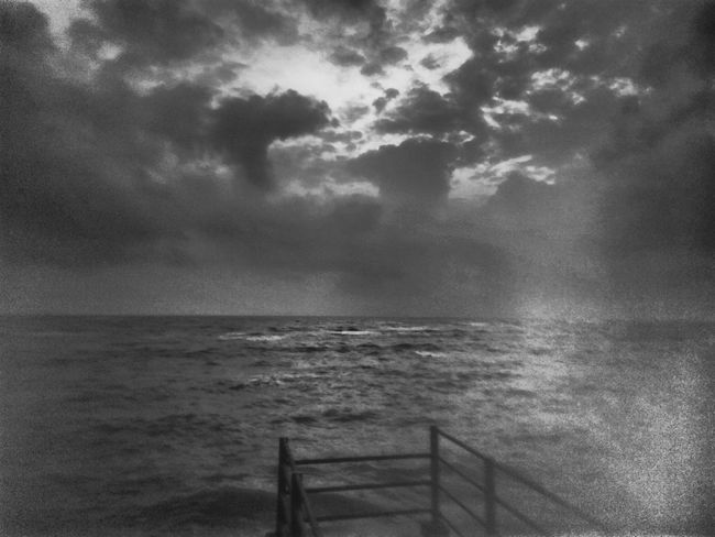 The Journey Is The Destination Sailing Waiting To Cast Off Fading Memory Cracked Lens Dark Skies Monsoon