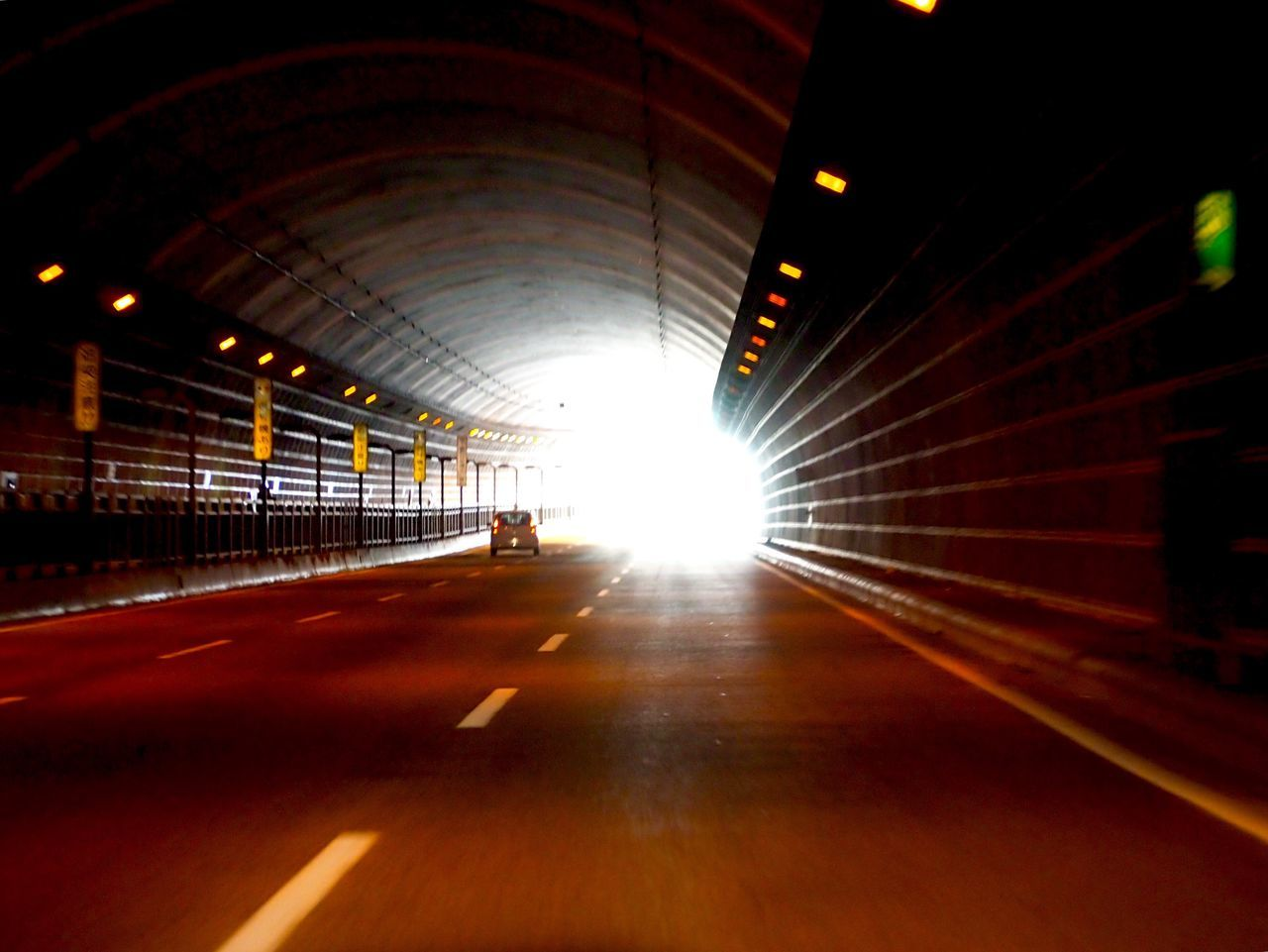 Tunnel Tunnel Vision Tunnel View Tunnel Of Light TunnelPorn Highway Transportation Illuminated Exit