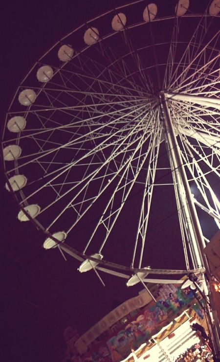 Big Wheel White Wheel Unfinished Easter Market Carusell Rostock Neuer Markt Light In The Darkness Germany Easter Ready