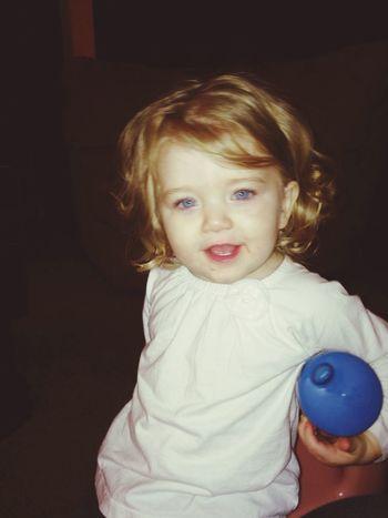 Blue Eyes Babygirl