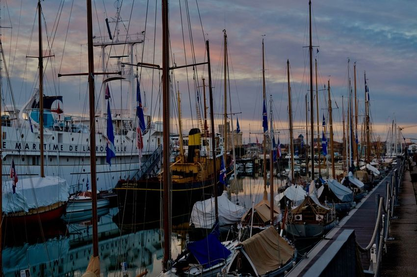 EyEmNewHere EyeEm Best Shots EyeEm Gallery EyeEm Best Edits Beauty In Nature Architecture Building Exterior Built Structure Day Harbor Mast Mode Of Transport Moored Nature Nautical Vessel No People Outdoors Sailboat Sea Sky Sunset Transportation Water