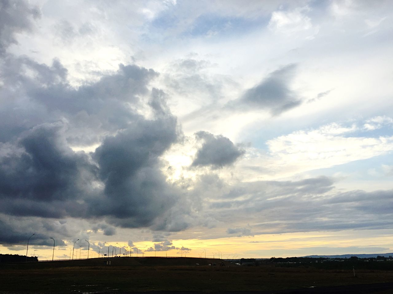 sky, cloud - sky, nature, landscape, scenics, no people, tranquility, beauty in nature, outdoors, day