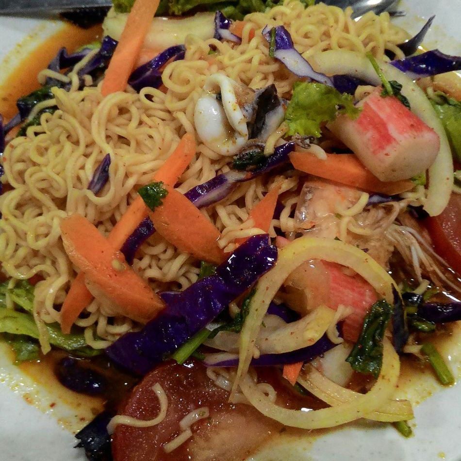 Fried Maggie Kerabu Kelantanfood Delicious Foodies Foodblogger Foodporn Yummy