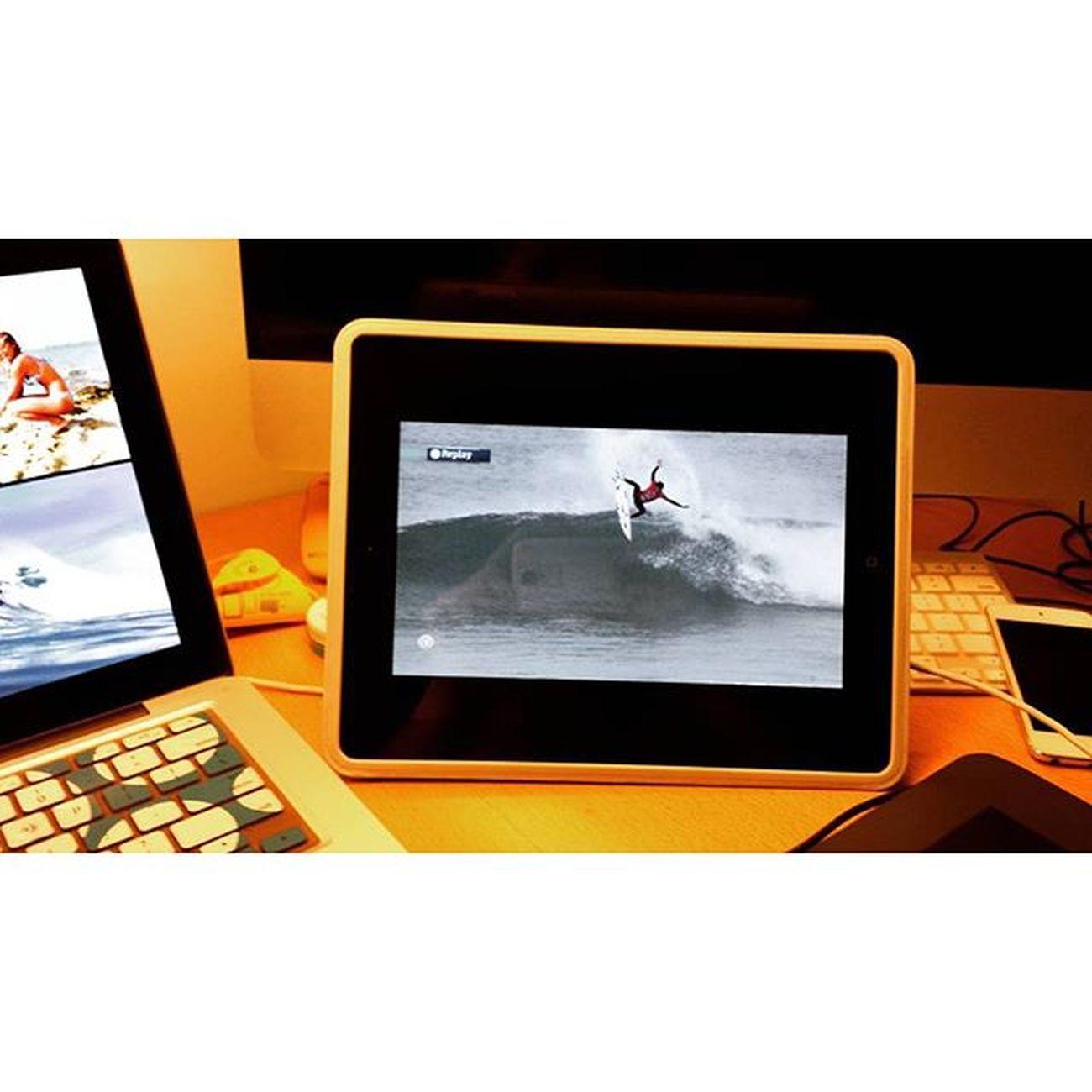 Must see heat from round 3 Worldsurfleague Mocheripcurlpro Filipetoledo Masonho Round3heat1 surfing live iPad mac iPod galaxys4photo Wacom contest resting fun busyhomework matthewhauadventure