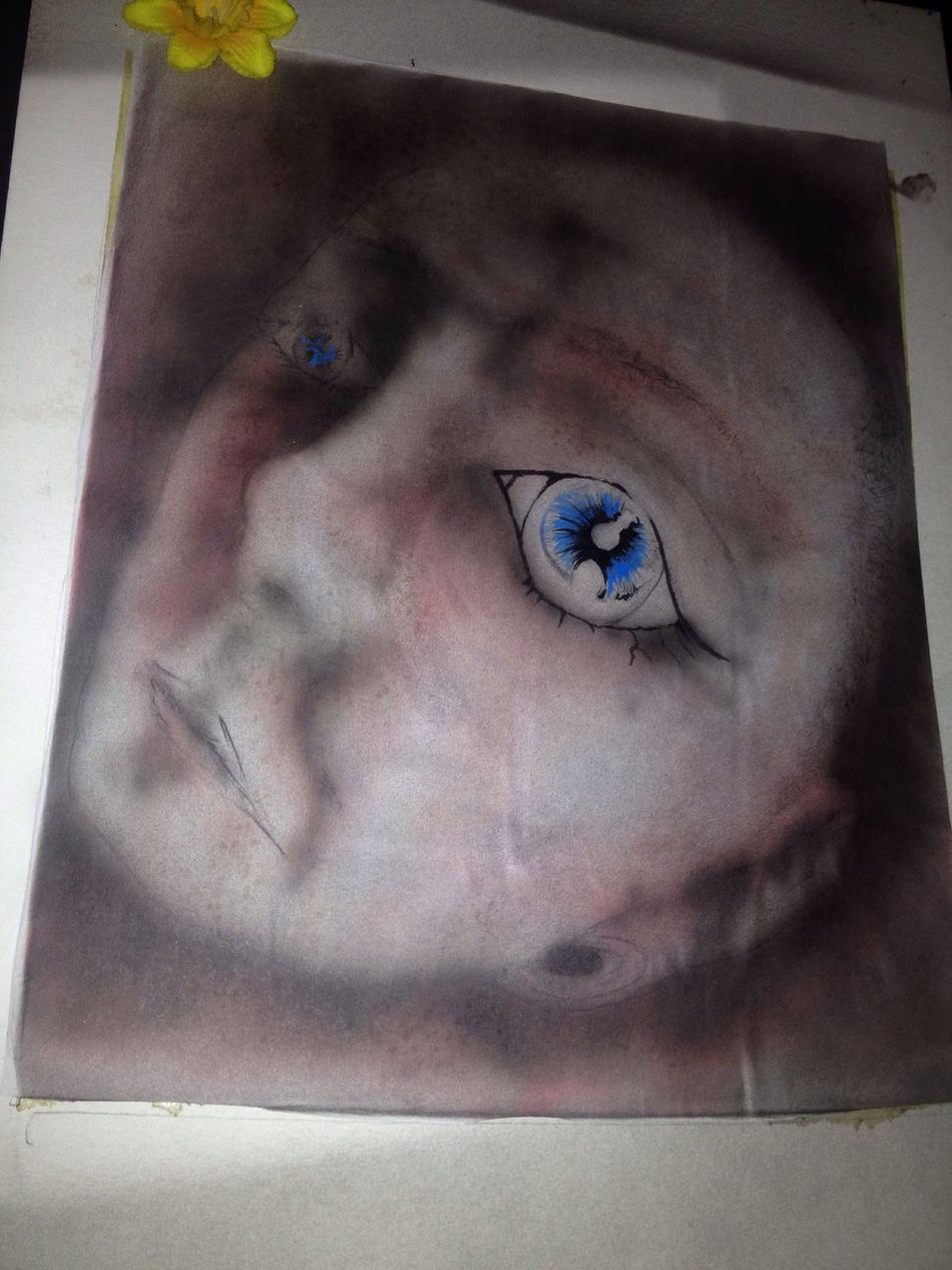 In My Mind's Eye I allways feel like somebody's watching me 👀👁👀👁👀👁😤 My Art Self Portrait Real People One Person Human Eye Close-up Portrait Eyelash Sensory Perception Eyebrow Human Body Part Indoors  Day Young Adult Eyeball People