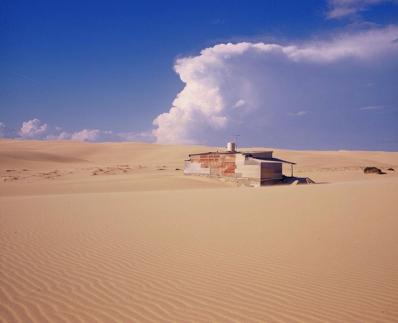 Tin City Mamiya7ii Sand Dune Landscape Australia Australian Landscape 120 Film