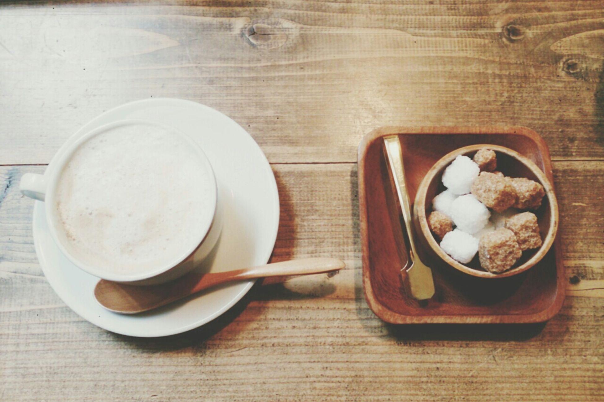 カフェ フエ° 福島駅 Cafe Fouet° カフェオレ お砂糖 Cafe Au Lait