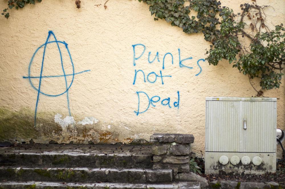 Anarchy Architecture Axvo Day Garmisch Garmisch-partenkirchen Kurpark  No People Outdoors Park Punks Punksnotdead Wall