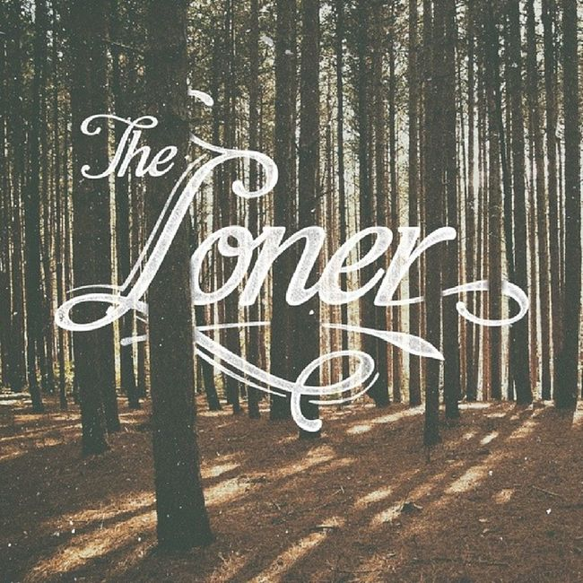 Gary Moore - The Loner Lettering Typography Typeverything Design HandLettering GaryMoore Loner typework insitu dailytype thedailytype typographyinspired