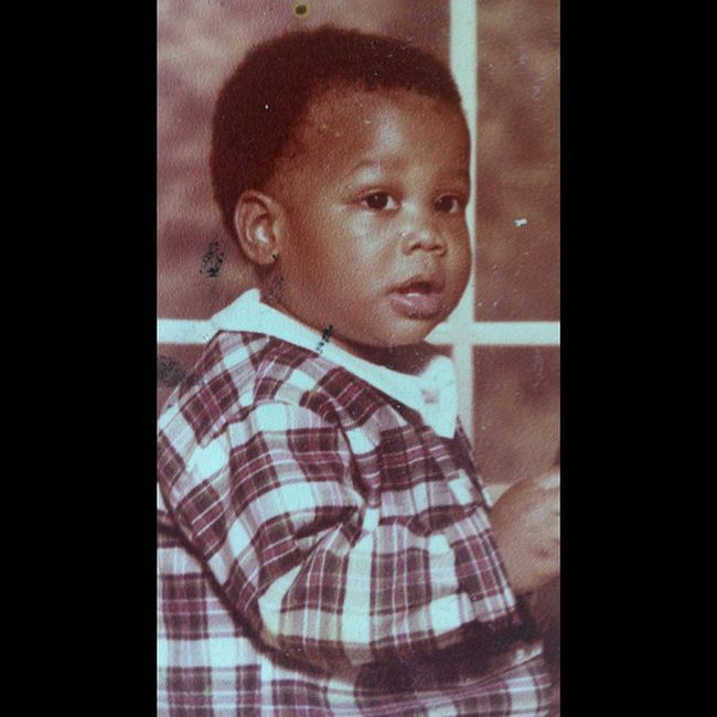Baby Marques stunting on 'em! I know y'all hating on that Gymboree Plaid leisure Suit ! Oooh Kill 'Em!!! Lol TBT