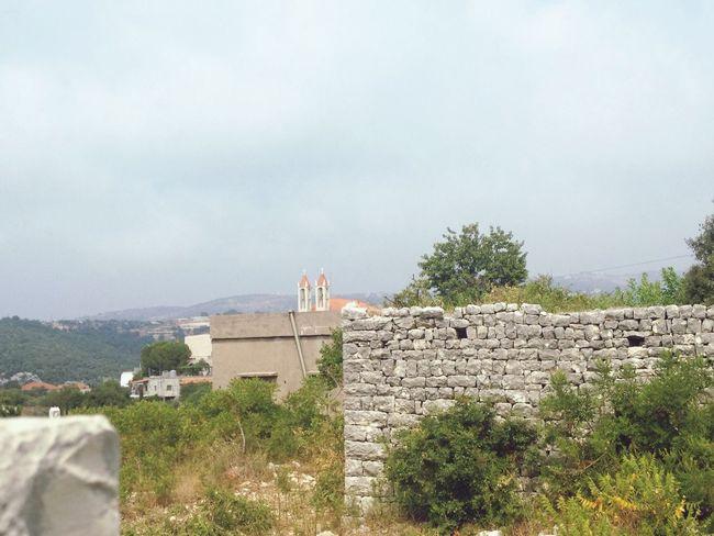 Mountain East Mediterranean Lebanon Old House