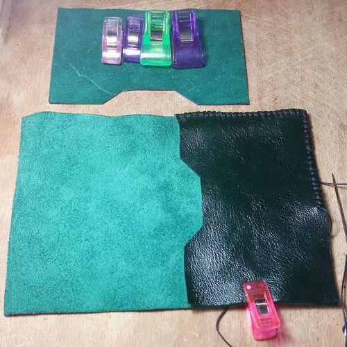 Leather leathercraft Leatherbag Handmade Leather Art