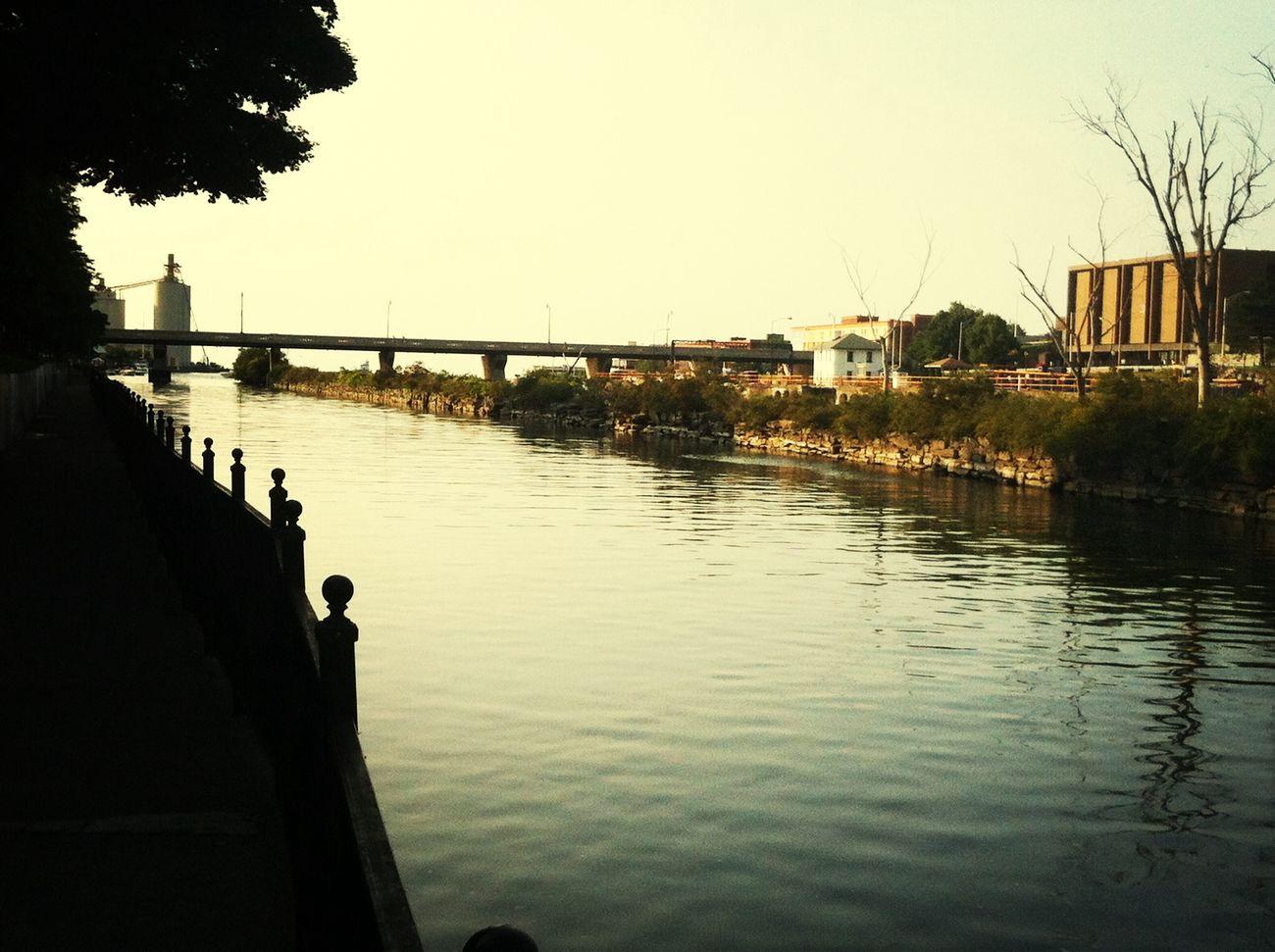 The Best Thing In Oswego Oswego River Upstate NY