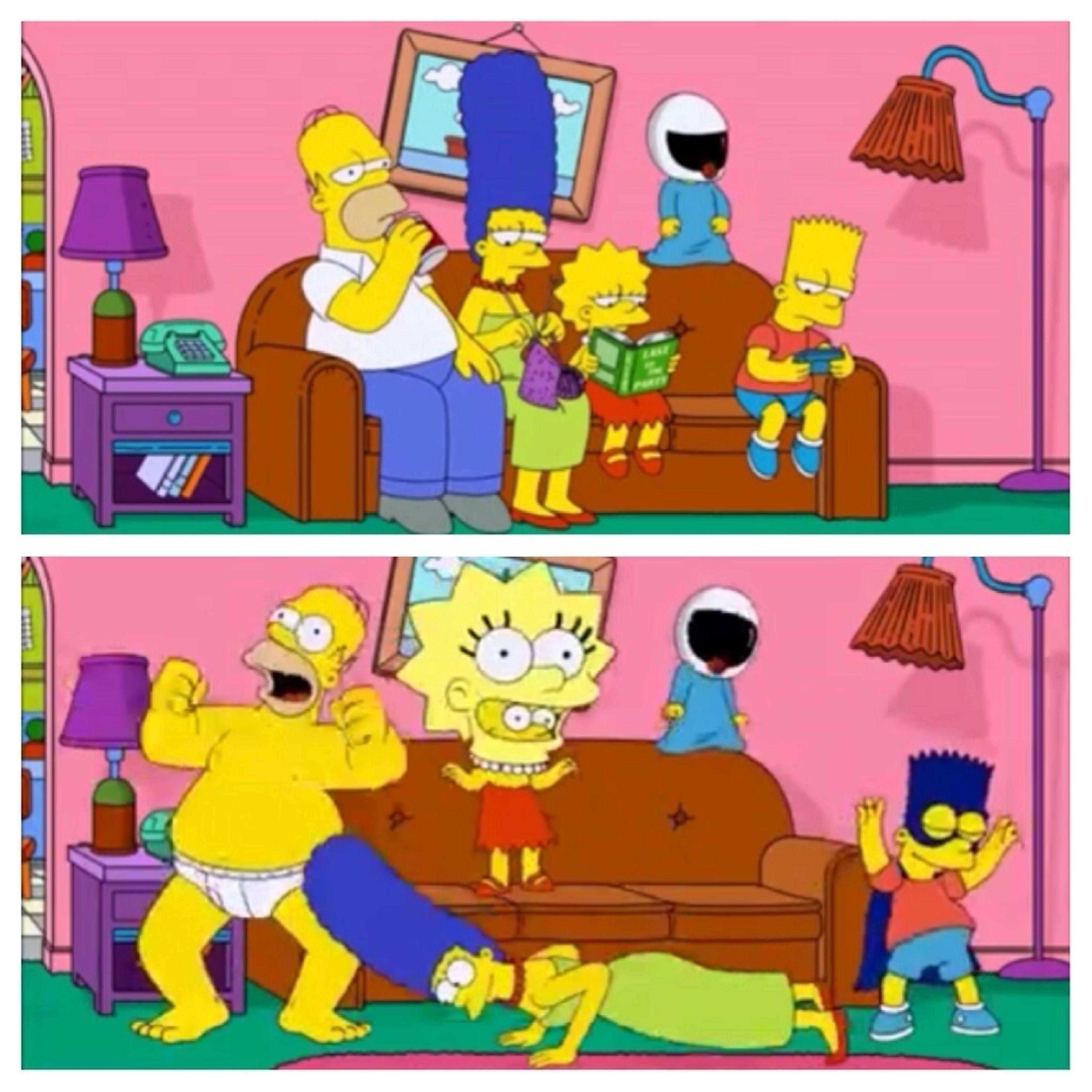 Simpsons Harlem Shake