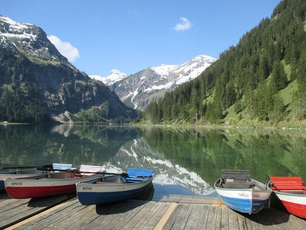 Austria ❤ Vilsalpsee Landscape Nature Mountain EyeEm Best Shots Eyembestpics Snowcapped Mountain