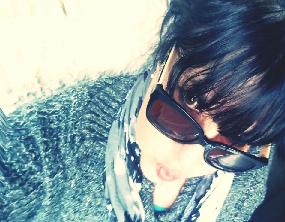Sassy Selfie Saturday Selfie Samsung Looking Up Looking At Camera Eye4photography  Uniqueness Winter Big Sweaters  Sunglasses ✌👌 Warm Clothing Smiling That's Me! Dark Hair FacesOfEyeEm StaySexyOver40 Showcase February 2017 Healthy Lifestyle