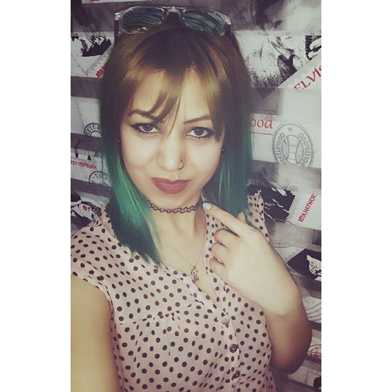 Herşey Güzel Olması Dileğiyle.. 🙏🙆❤💋💋👍 Beauty Cute Greenhair Grily bestoftheday amazing likesforlikes