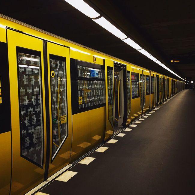 Berlin Underground Bvg Weilwirdichlieben Metro