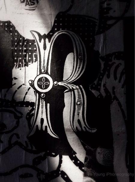 R Ray Gun Graffiti LES   Taking me back to my Graphic Design Roots t WCU   w/Richard Borge