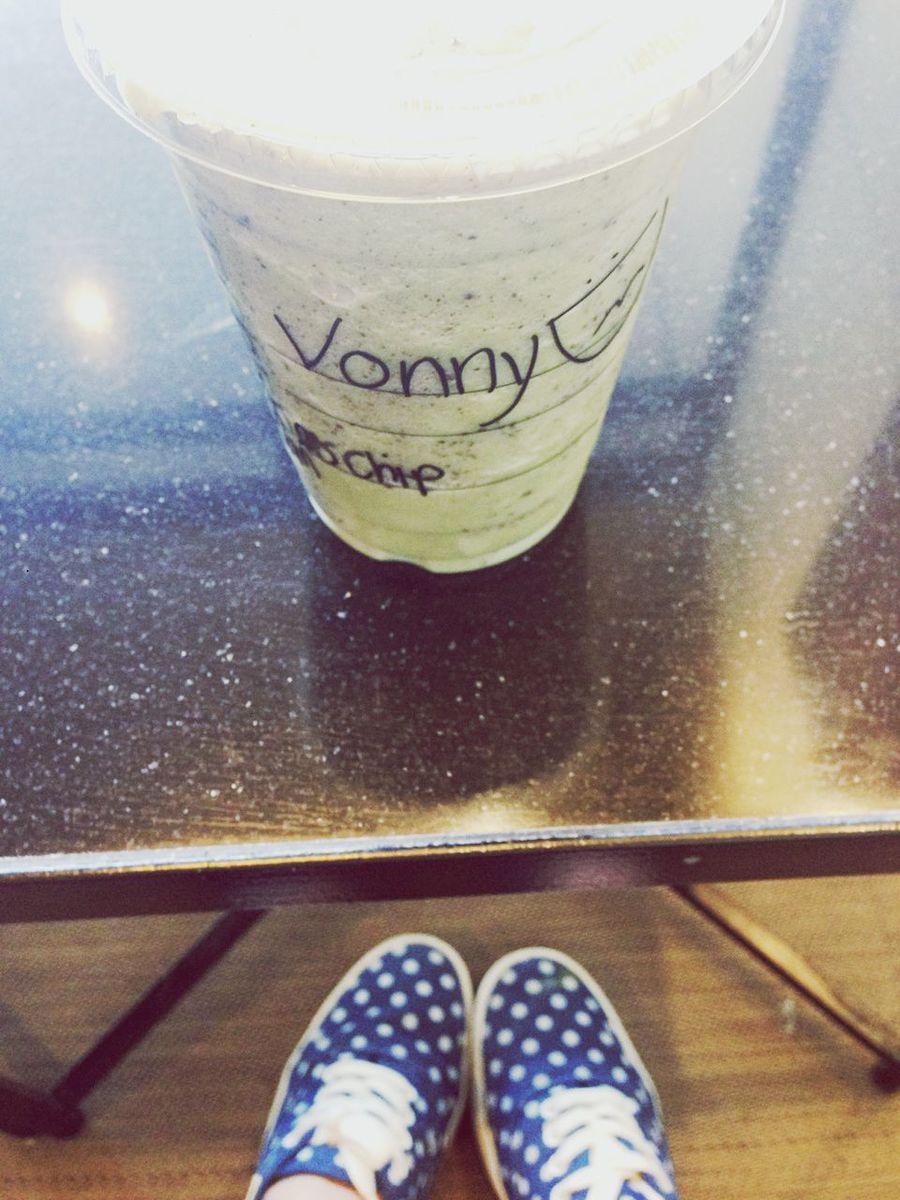 Starbucks StarbucksMexico Greenteacream Green Tea Frappe