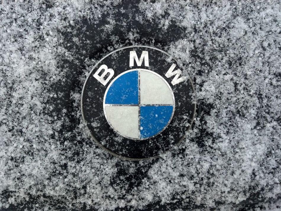 Black Bmw Bmwlogo Cold M36 Snow Snow ❄ Snowflake Stillleben Winter