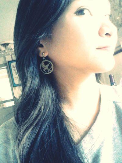 Well, my earrings is ready ;) Mockingjaypart1