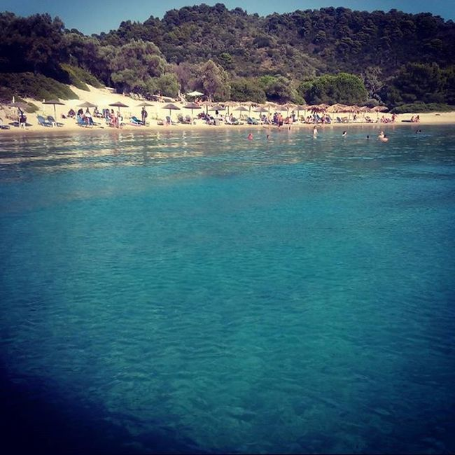 Holiday Greece Zatziki Boat Sun Beach Thisislife