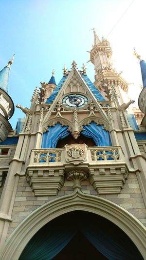 One of my favorite pictures from Dusney. Architecture Travel Destinations Disney World Low Angle View