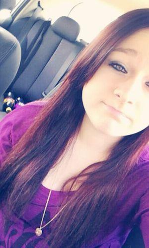 lifes what you make it Selfie ✌ Blue Eyes Purple ♥ Whitegirl