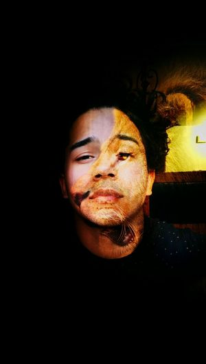 An injured lion still wants to roar... That's Me Selfportrait Abstract Art Abstract Me The Animal Within