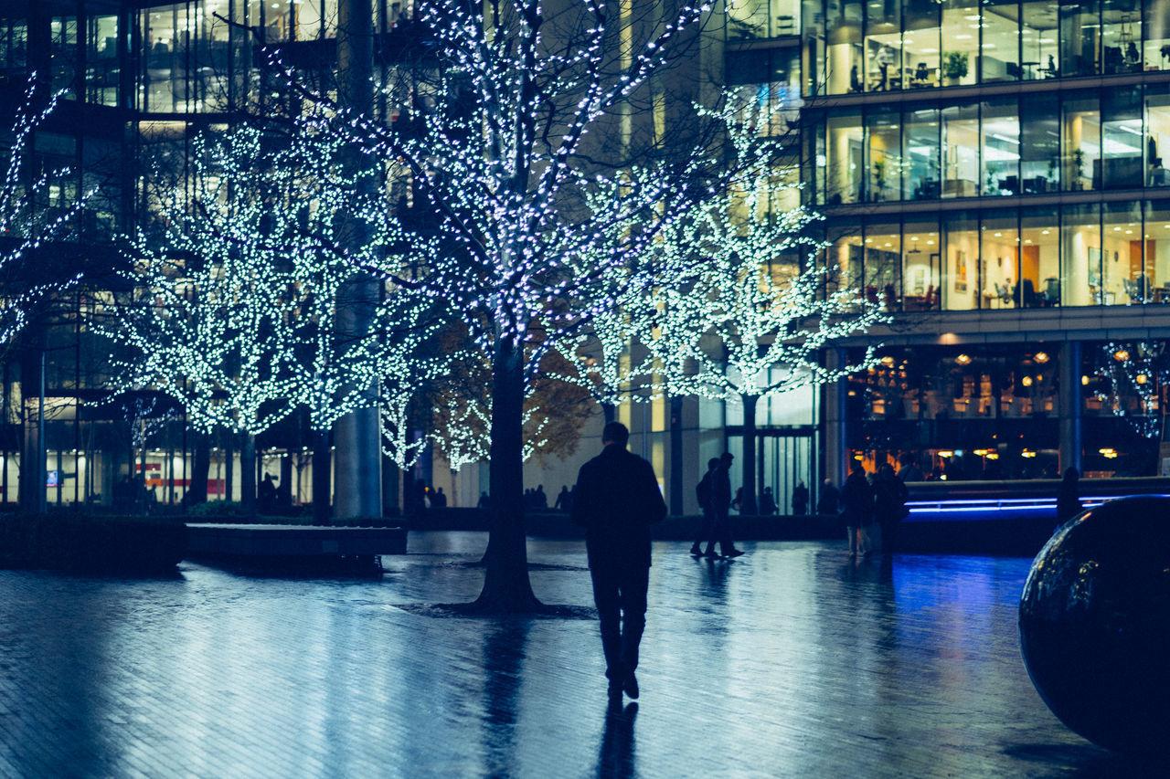 Architecture Architecture Christmas City Festive Season Illuminated Lights More Longon Night Outdoors Urban Winter