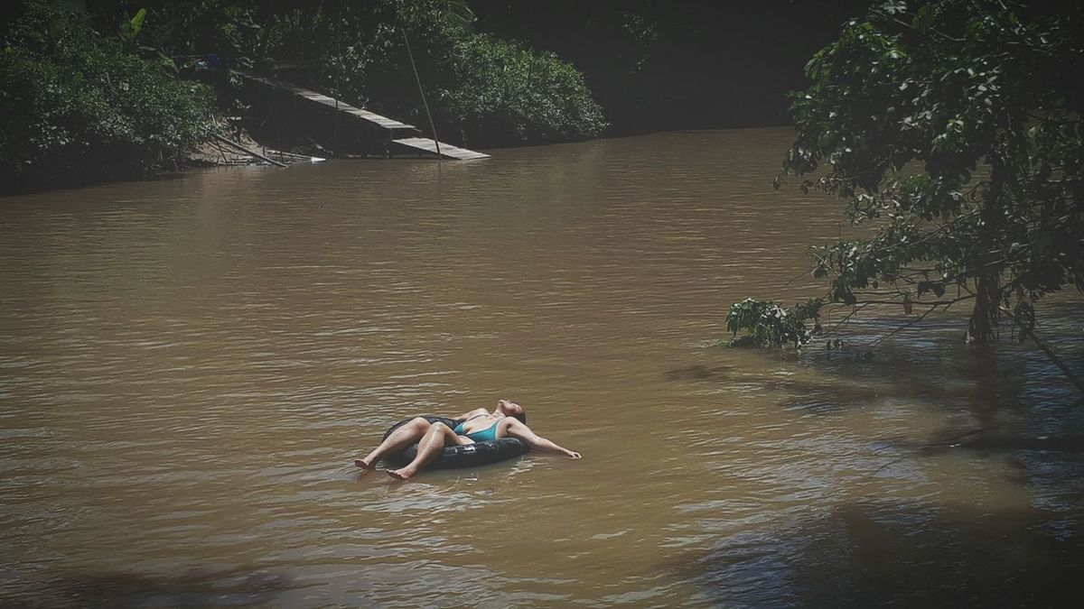 EyeEm Selects Water River Outdoors Enjoyment Swimming Adventure Real People Para Belem-Pa-Brazil Fun Happy Time Breathing Space Hello World Hello Igarapé Combu