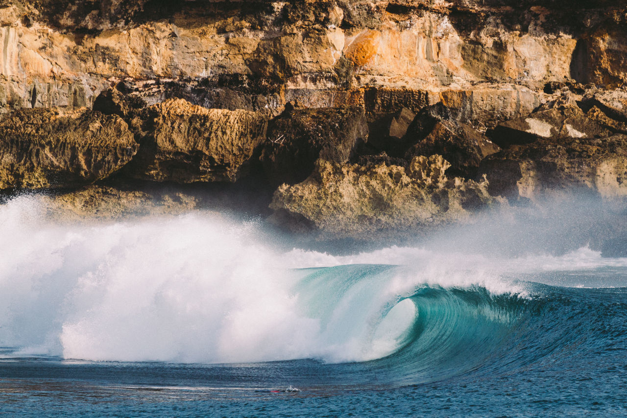 Beauty In Nature Day Eye4photography  EyeEm Best Shots EyeEm Gallery EyeEm Nature Lover INDONESIA Indonesia_photography Java Nature No People Ocean Ocean View Outdoors Power In Nature Scenics Sea Surf Surfing Water Wave Waves Waves And Rocks Waves Crashing Waves, Ocean, Nature
