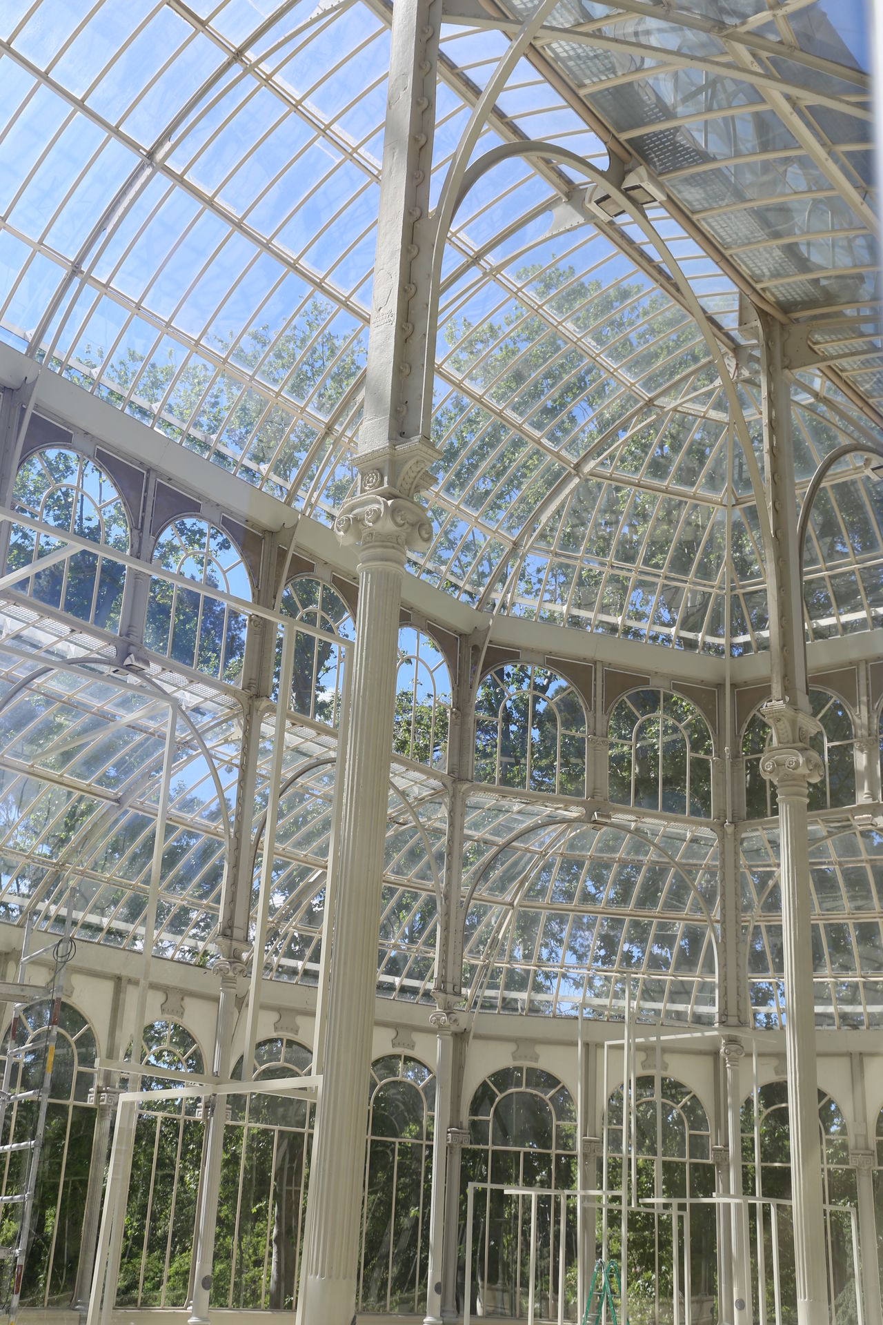 Architectural Design Architectural Feature Architecture Built Structure Crystal Palace Glass Glasshouse Indoors  Madrid Palacio De Cristal SPAIN First Eyeem Photo